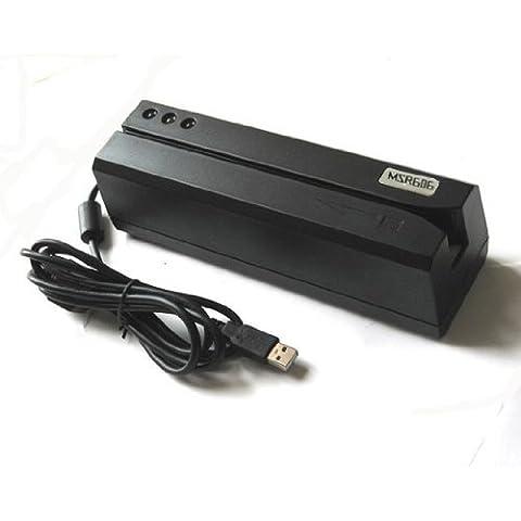 kestronics® MSR606msr606h magnetica Striscia Card Reader Writer Codificatore MSR206MSR605+ 20CARTE