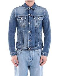Dolce E Gabbana Hombre G9JC2DG8AM8S9001 Azul Algodon Chaqueta
