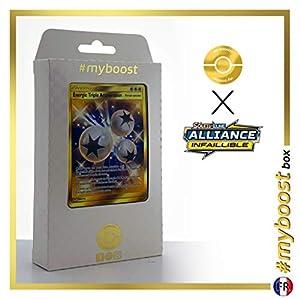 Énergie Triple Accélération (Energía Triple Aceleración) 234/214 Energía Secreta - #myboost X Soleil & Lune 10 Alliance Infaillible - Box de 10 cartas Pokémon Francés