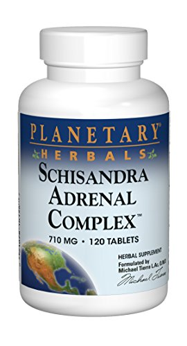 Planetary Herbals Schisandra Adrenal Complex, 120 Tablets Test