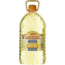Capicua - Aceite refinado de girasol alto oleico 80%, 5 L