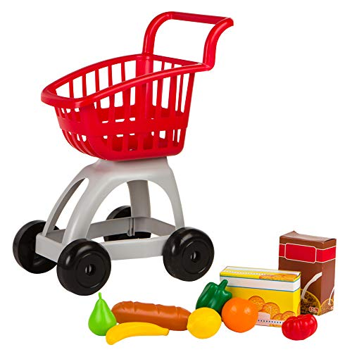 ColorBaby - Carrito supermercado con accesorios