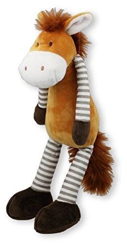 Affen-onkel (Inware 7743 - Kuscheltier Schlenkerpferd, 32 cm, Schmusetier, Schlenkertier, Pferd)