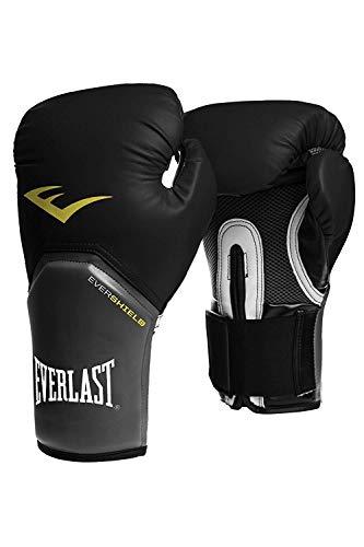Everlast Boxhandschuhe Elite Pro Style schwarz rot blau weiss pink 8 10 12 14 16 Oz (schwarz, 10 Oz)