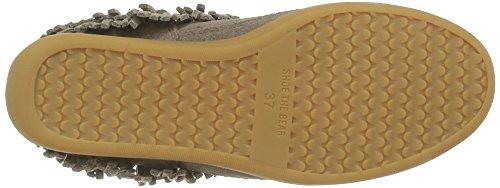 Shoe The Bear Damen Emmy Fringes High-Top Beige (Taupe)
