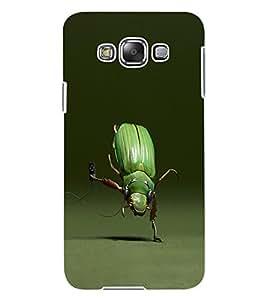 ColourCraft Funny Creature Design Back Case Cover for SAMSUNG GALAXY E7