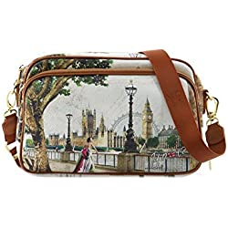 BORSA YNOT CROSSBODY BAG H-331 AML AMAZING LONDON