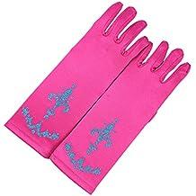 lifenewbaby Queen Princess Princess–Guante de Magic Party Prom satén guantes de vestido para disfraz de Match para niñas 3–5años de regalo de cumpleaños/Navidad/8–10años
