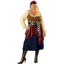 In Character Costumes - Disfraz de bucanero para mujer, talla XXXL (150083X)