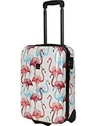 Saxoline Flamingo Koffer, 55 cm, 29 L, Mehrfarbig