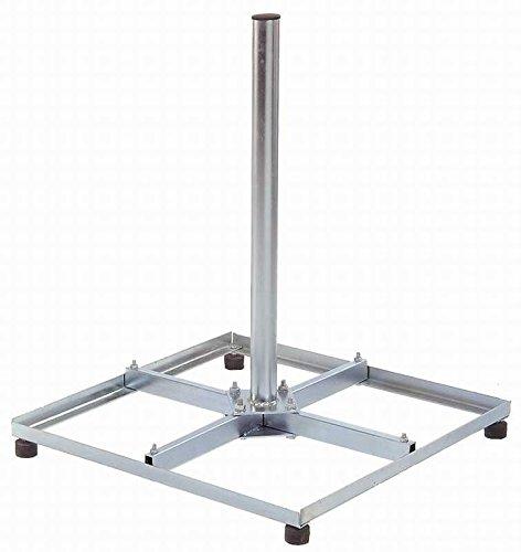 4X30cm Balkonständer Stahl für Sat Antenne - Satellitenschüssel Halterung Zerlegbar Satellitenständer Sat Schüssel Flachdachständer Flachdachhalterung Digital Anlage Satelliten Spiegel