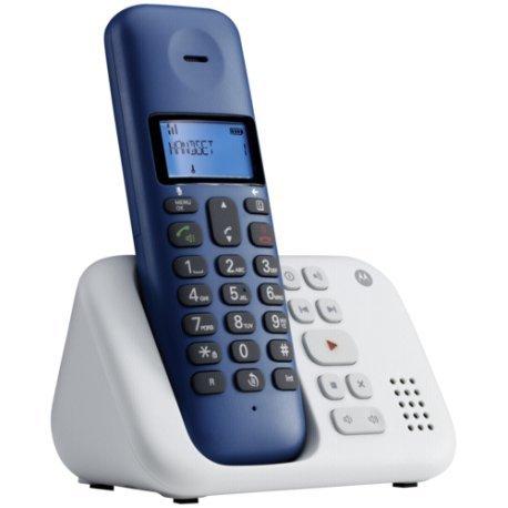 Motorola T311RB T3-Schnurlostelefon royal blau
