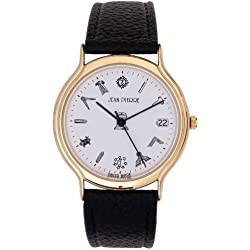 Gents Gold Finish Wristwatch with Masonic Symbols