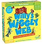 Willy's Wiggly Web - The Wiggly, Wobbly Cutting Game! In this game, winner of multiple awards including the Oppenheim Toy Portfolio Gold Seal, children work together to cut the little bugs free before Willy the Spider falls from the top of the web! S...