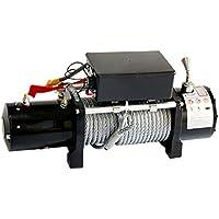 CIKO Equipado con Control Remoto inalámbrico y cabrestante de Reciclaje de Cables 12 / 24v