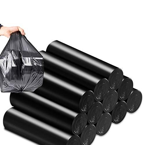 Haushalt Müllsack Pedal Bag Kleine Box Heavy Duty Rechteckige Box Kein Griff Müllsack Müllsack Müllsack Müllsack PE Lebensmittel Müllsack Müllsack (Größe: 45 * 50cm) ( größe : Carbon black 5 rolls )