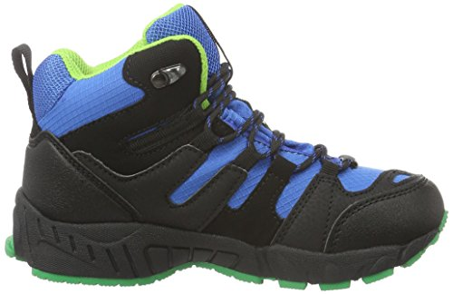 Dockers by Gerli 37rc703-637163, Chaussures de Trekking et Randonn&EacuteE Mixte Enfant Noir (schwarz/royal 163)