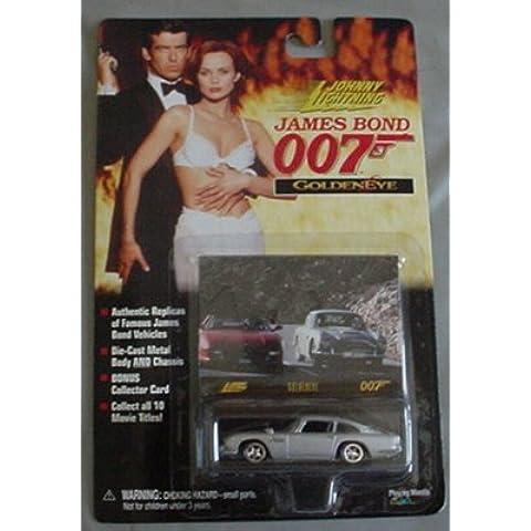 Johnny Lightning James Bond Goldeneye Anston Martin BMT 216A SILVER Coupe by Johnny Lightning