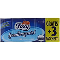 Foxy Fazzoletti a 2 Veli - Confezione 12 Rotoli