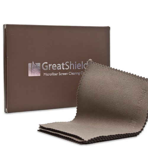 GreatShield Luxus Mikrofaser Reinigungstücher (10 Packung) für Brillen, Digital Video Kamera Objektiv, Laptop, Plasma, TV, PC, Monitor Bildschirm, Smartphone, Tablet, Uhr, Schmuck - 14 cm (L) x 10,1 cm (H)