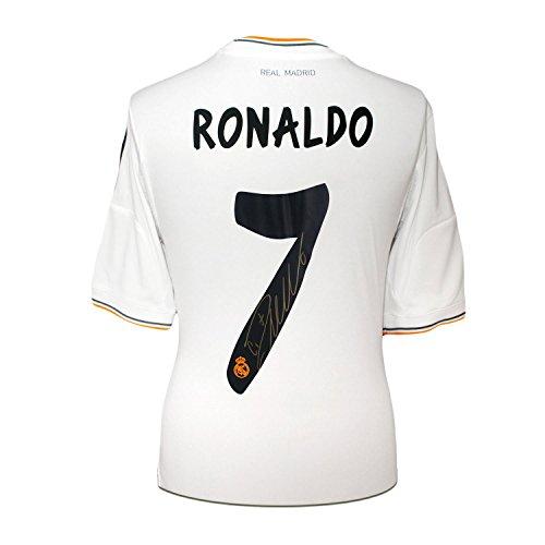 Camiseta fútbol firmada - Real Madrid - Cristiano Ronaldo