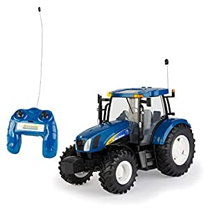 tomy britains spielzeug traktor rc new holland big farm. Black Bedroom Furniture Sets. Home Design Ideas