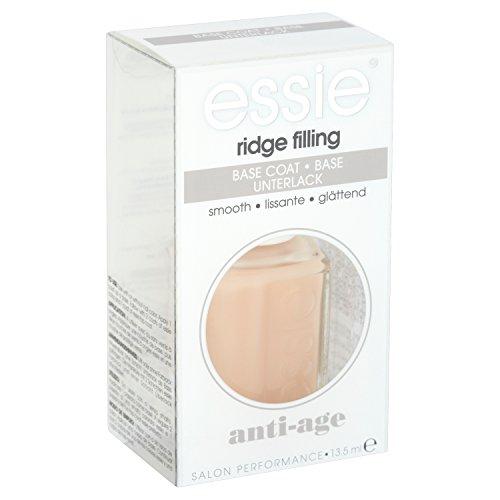 essie Unterlack ridge filling/Schützender Base Coat für flache, ebenmäßige Nägel, füllt Rillen auf, Anti Aging für die Nägel, 1 x 13,5 ml