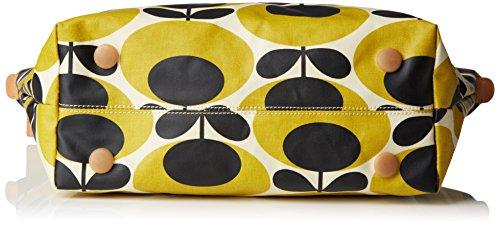 Orla KielyZip Shopper - Borsa con Maniglia donna Giallo (Yellow (Mustard))