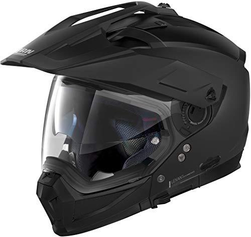 NOLAN N70-2 X CLASSIC N-COM FLAT BLACK L
