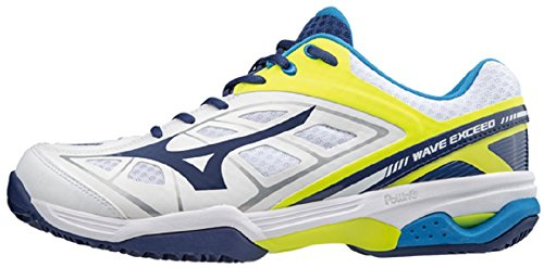 Mizuno Wave Exceed CC - Scarpa Tennis Uomo - Men's Tennis Shoes (EU 42)