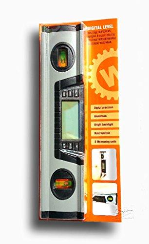 Digitale Wasserwaage mit verschiedenen Funktionen ex. Batterie