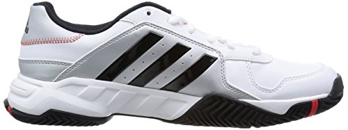 Adidas barricade court FTWWHT/IRONMT/SILVMT Weiss