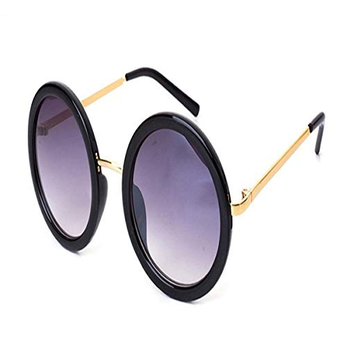Sport-Sonnenbrillen, Vintage Sonnenbrillen, New Retro Round Sunglasses Women Vintage Sun Glasses Women Coating Oculos De Sol Gafas Lunette De Soleil C11
