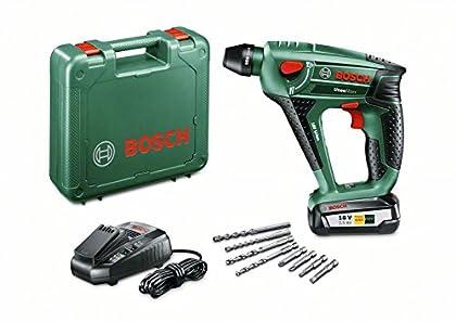 Bosch Uneo Maxx Herramienta Multifuncional, 18 W, 18 V, Negro, Verde