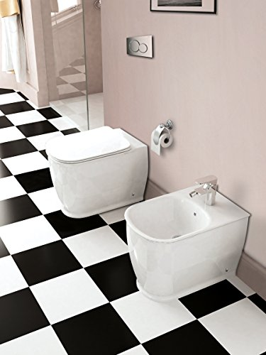 Sanitari filo muro water e bidet copriwater soft close EPOQUE