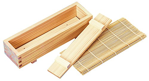Bron coucke - sushi kit - Kit méthode tradionnelle japonaise pour sushis et makis