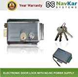 NAVKAR Electronic Door Lock with NO NC Power supply 12V DV 3 Amp