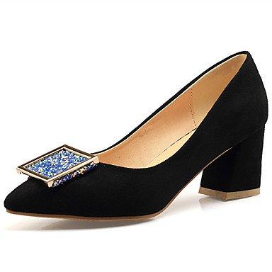 Zormey Chaussures Femmes Talon Chaussures À Enfiler Plus Pompe Couleur Disponible US6 / EU36 / UK4 / CN36