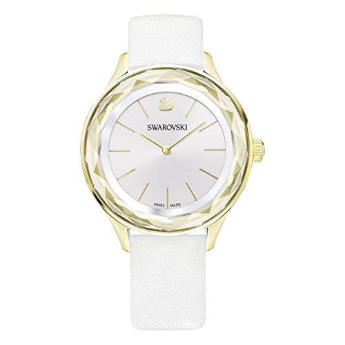 Swarovski orologio octea nova, bianco