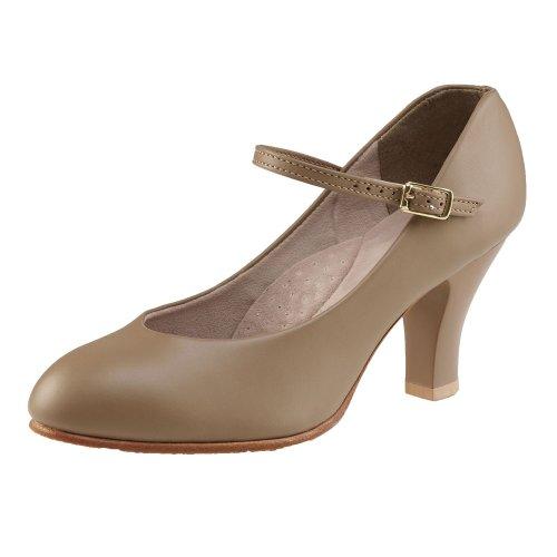 Chaussures de caractère Capezio 656 Theatrical Footlight Bronzage