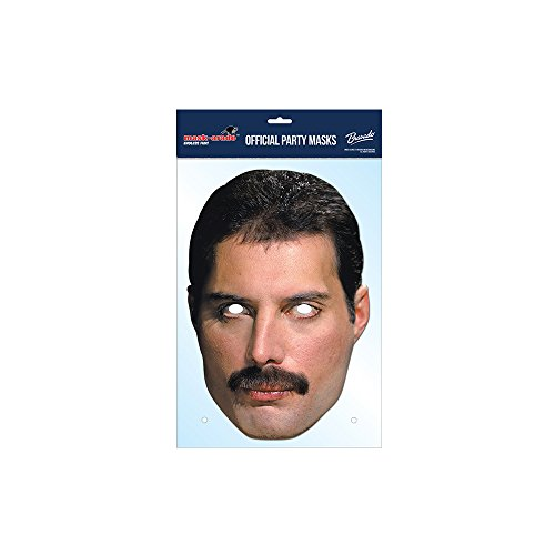 Freddie Mercury Queen Card Mask