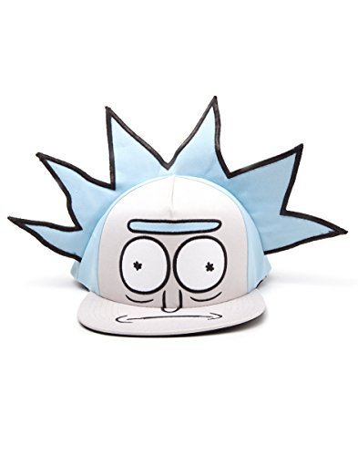 Rick and Morty Cap Rick Novelty Snapback Blue