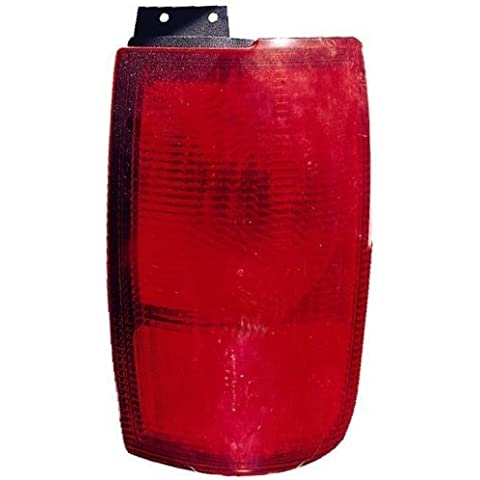 Lincoln Navigator-Tail Light Unit (esterno), lato passeggero mediante (Lincoln Navigator Fari)