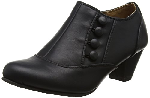 cc68fe67bd5 WOMENS LADIES LOW MID HEEL BUTTONS ZIP SMART ANKLE SHOE BOOTS BOOTIES.