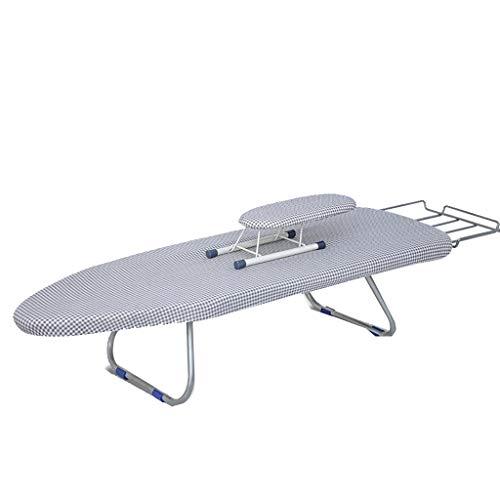 CXLO Bügeltisch Board,zusammenklappbares und platzsparendes Bügeltisch Board,Mit separaten Ärmeln,Mit Eisenständer,Länger ,Größe: 90 × 31 × 19 cm