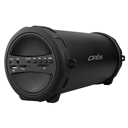 Artis BT222 Wireless Portable Bluetooth Speaker With USB / FM / SD Card Reader / AUX IN (Black)