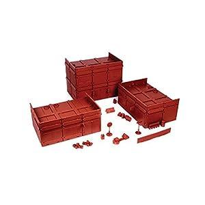 Mantic Games MGTRB05 - Centro de Ladrillos del Siglo XX, Color Rojo