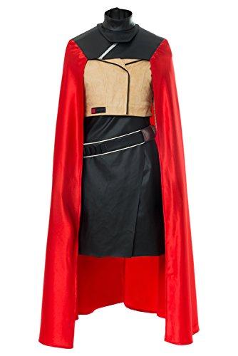 Solo: A Star Wars Story Qi'ra Umhang Jacke Outfit Cosplay Kostüm Damen L