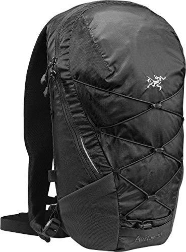 Arcteryx Rucksack (Arcteryx Erwachsene Rucksack Aerios Backpack Daypack, Black, 10 x 23 x 45 cm, 10 Liter)