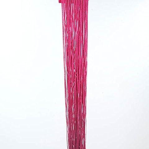 QHGstore Decorativi linea di corda della nappa tenda della porta